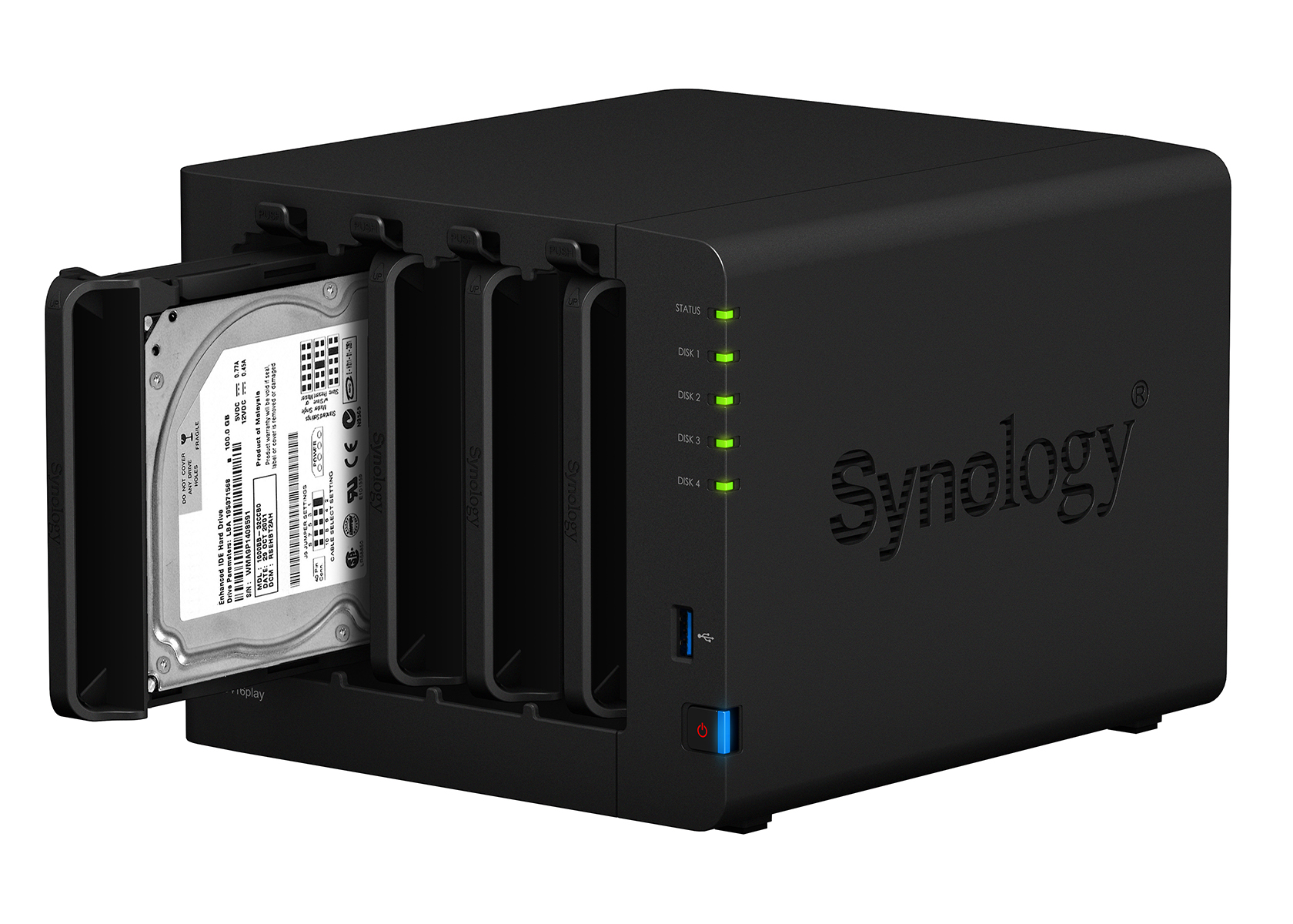 Synology introduce DiskStation DS416play