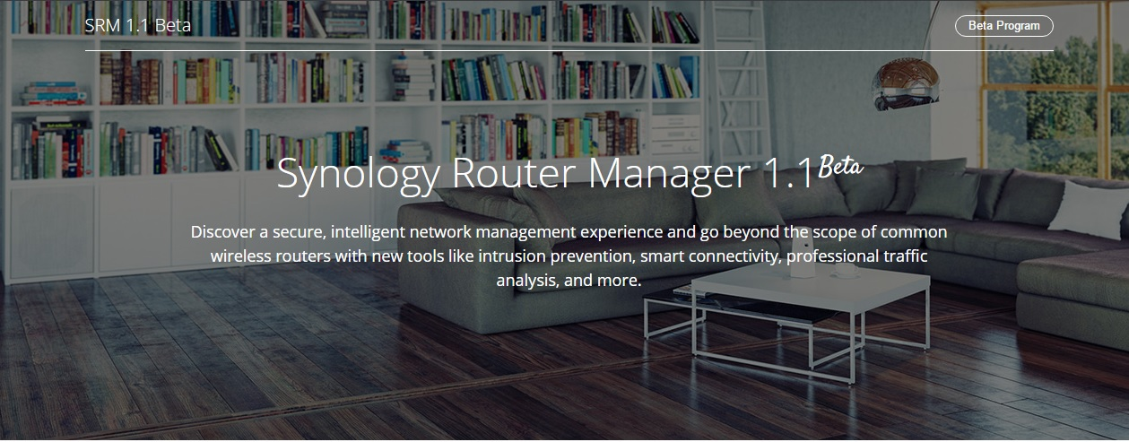 Synology annuncia Synology Router Manager (SRM) 1.1 Beta Release
